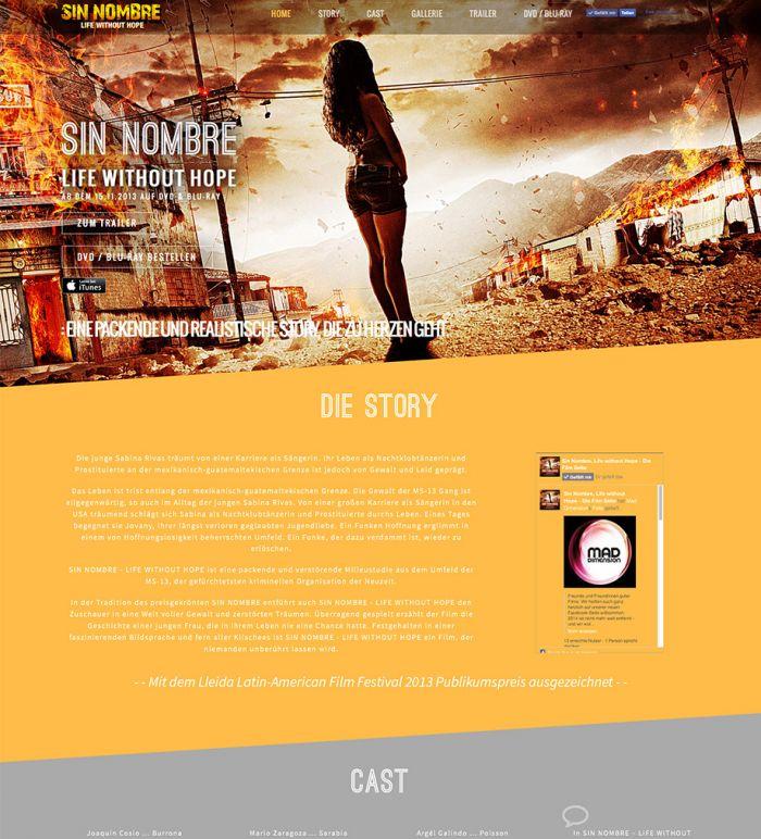 Sin Nombre - Life without Hope - Der Film