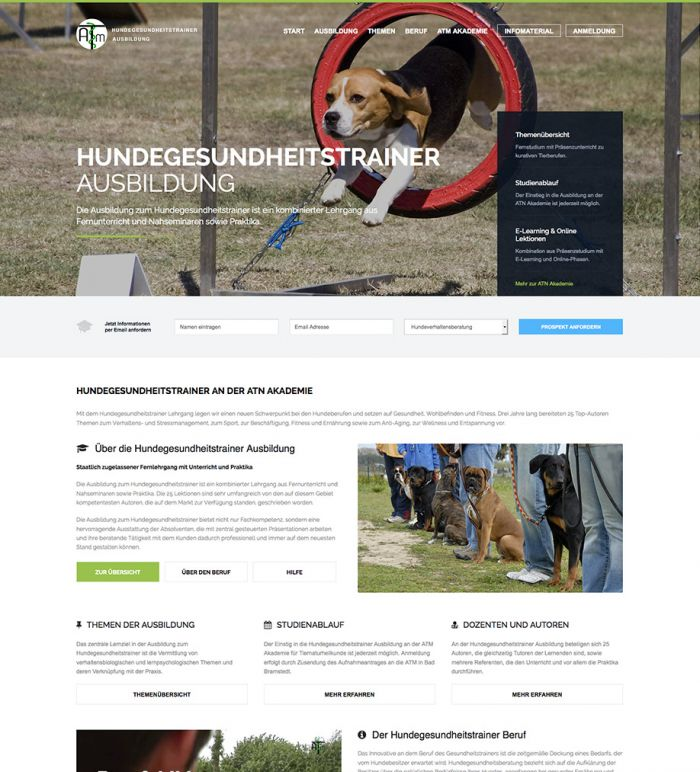 Hundegesundheitstrainer Ausbildung ATM