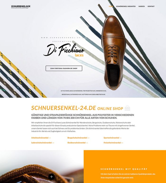 Schnuersenkel-24.de - Marken Online Shop