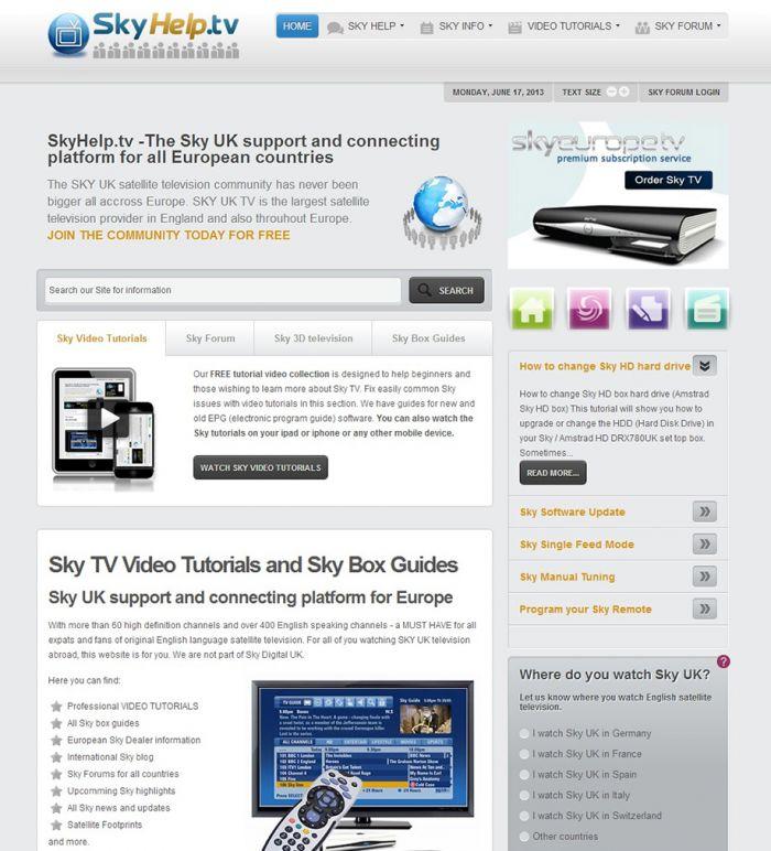 SkyHelp.tv