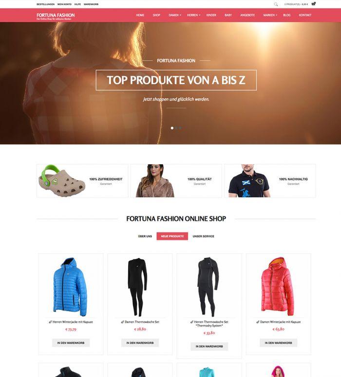 Fortuna Fashion - Online Shop