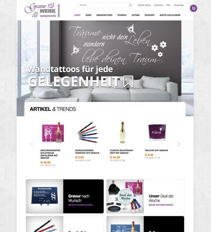 GravurWERK.de - Online Shop
