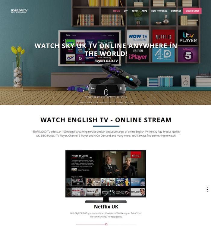 SkyRELOAD.TV - Online Shop