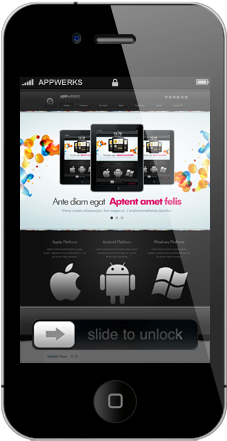 iphone-webdesign