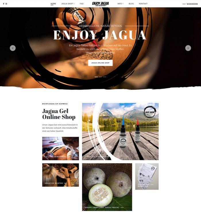 Enjoy Jagua - Online Shop