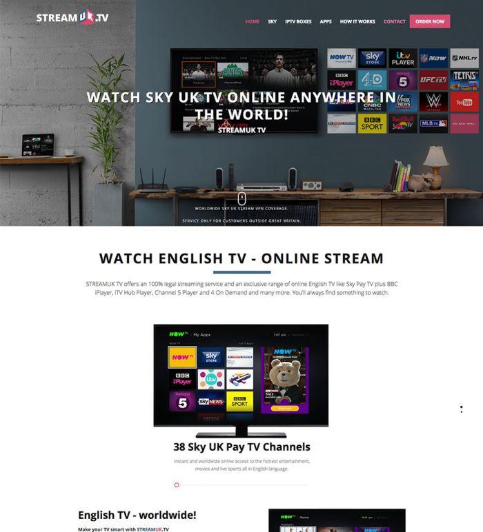 StreamUK.TV - Online Shop